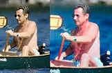 Links het originele beeld van Reuters, rechts de bijgewerkte versie die in 'Paris Match' verscheen. rtr<br>