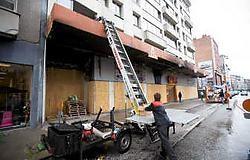 Alles wat nog gered kon worden, werd uit de appartementen gehaald. <br>Wim Kempenaers<br>
