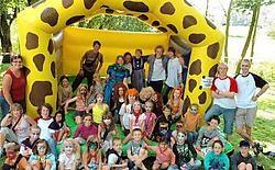 De kinderen genoten van de laatste dag van de Vakantiewerking.Guy Van Den Bossche