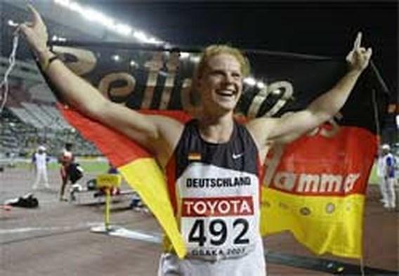 Duitse Betty Heidler wint het hamerslingeren