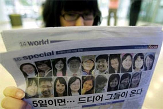 Gegijzelde Zuid-Koreanen allemaal vrij