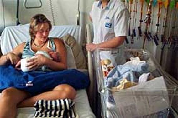 Opnieuw meer baby's in Vlaanderen