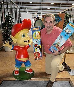 Zaakvoerder Geert Van Boven van Transposia: 'Met onze spelletjes maken wij de dromen van kinderen waar.'Frederiek Vande Velde