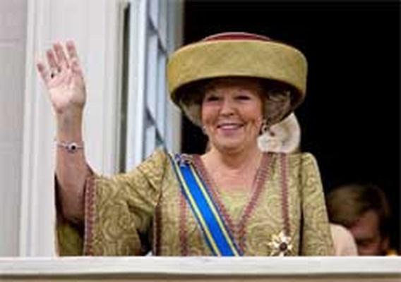 Kindertekeningen Nederlandse koningin onder de hamer