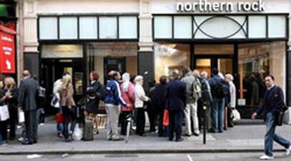 Britse bank Northern Rock boekt zwaar verlies