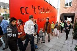 De mogelijkheden van cc 't Schaliken rustig verkennen, zat er zondag niet in. Louis Verbraeken<br>