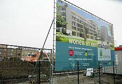 De bouw van het project is gisteren officieel begonnen. Gert Devocht<br>