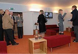 Bij de vernieuwing van het enige West-Vlaamse crematorium is er ook aan een aangenamere wachtruimte gedacht. Michel Vanneuville