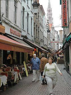 Achter de gevels in de Beenhouwersstraat worden vaak sociale wetten overtreden.Herman Ricour