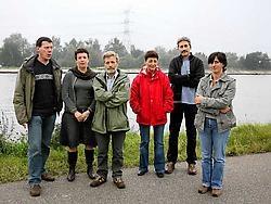 De inwoners van de verkaveling Albertkanaaldijk zien de komst van het afvalbedrijf Orgacom niet zitten. Louis Verbraeken<br>