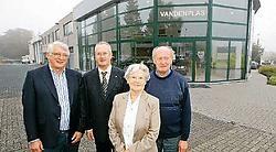 Bij garage Vandenplas is men erg blij dat Bofas financieel tussenkomt voor de bodemsanering.<br>Koen Merens