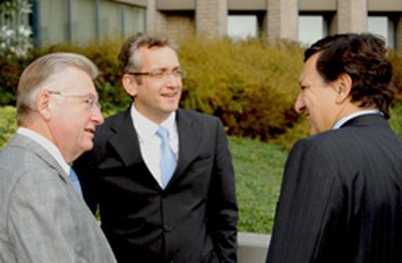 Barroso op bezoek bij De Standaard