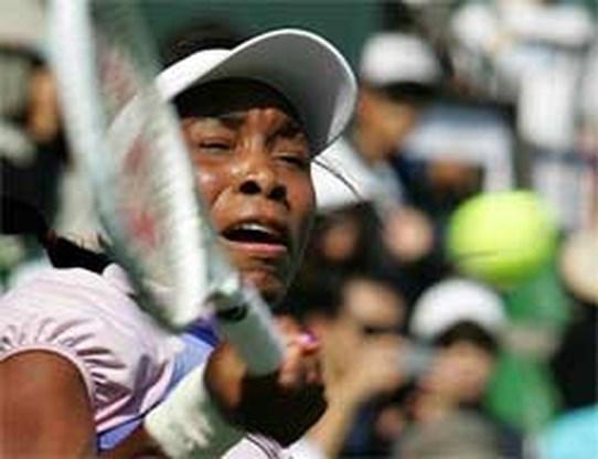 Venus Williams bij laatste vier in Tokio