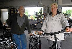 Guillaume D'Hondt herkende de fiets die Norma Verspeet bij hem kocht, maar al na een dag gestolen werd.<br> Carol Verstraete