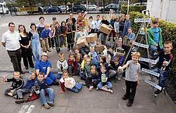 Basisschool Wildenburg wil met het afvalproject niet alleen de kinderen iets bijleren, maar hoopt ook de ouders te bereiken. Frank Meurisse
