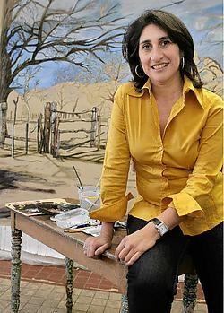 Cecilia Jaime: 'In Argentinië ken ik geen routine, ik geniet er anders van mijn vrije tijd.'Frederiek Vande Velde