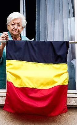 Simone Hermans hoopt niet dat ze het einde van België meemaakt. Wim Daneels