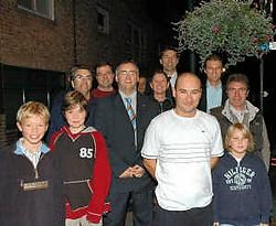 Henk Heyerick verrastte veel supporters met zijn knappe tijd.Boss<br>
