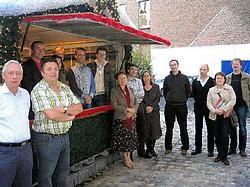 De organisatoren van de Ieperse kerstmarkt verwachten nog meer volk dan vorig jaar. Bart Vandenbroucke<br>