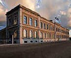 Het gebouw van de Bank van Breda. rr