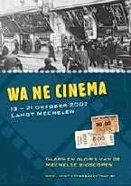 De Mechelse cinemadagen opnieuw tot leven gebracht. rr
