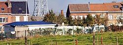 De eigenaar van het woonwagenpark in Walfergem moet een fikse boete betalen.Yvan De Saedeleer