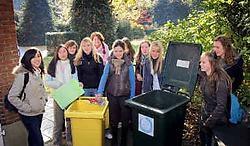 De vijfdejaars van het Sint-Cordula hebben weer wat opgestoken over afvalbeheer. Koen Fasseur