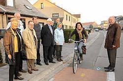 Er komen ook nieuwe fietspaden aan de Schaakstraat en Leopold Debruynestraat. Michel Vanneuville