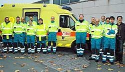 De dienst 100 blijft in Poperinge, ook na de overheveling van de hospitalisatiediensten naar Ieper. Tanith Constant