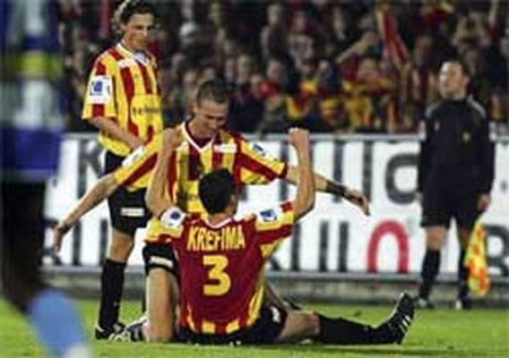 KV Mechelen duwt Brussels nog wat dieper