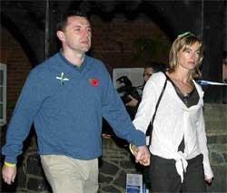 Kate en Gerry McCann. rtrs<br>