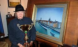 Lucien Vanboterdael dankt zijn overwinning aan zijn versie van de het Oostendse schoolschip Mercator. Eddy Vuylsteke