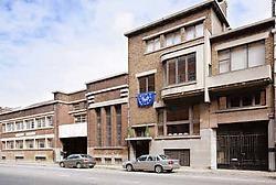 De woning en het magazijn werden in 2003 beschermd. R. Werthelaers<br>