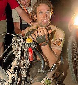 Marc Herremans was niet op het proces aanwezig, want hij nam deel aan The Crocodile Trophy in Australië.rr<br>