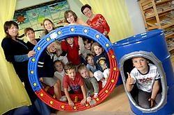 De buitenschoolse kinderopvang, met afdelingen in Wortegem en Petegem, werd zo'n negen jaar geleden opgestart. David Stockman