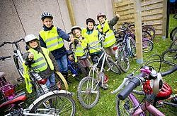 Er komen meer kinderen met de fiets naar school.Jef Collaer<br>
