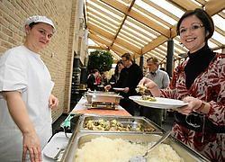 Gedeputeerde voor Dierenwelzijn Hilde Claes (SP.A) wil vegetarisch eten een meer sexy en hip imago geven. Mine Dalemans<br>