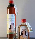 Het Bertilialepke, een lichte graanjenever met fruitig aroma. rr <br>