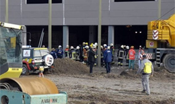 Arbeiders gered vanonder puin in Wilrijk