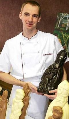 Wim Demeestere, hier met zijn sinterklaasproducten, behaalde een eretitel in Knokke. Johan Van Cutsem<br>