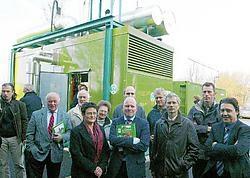 'Het gebruik van de warmtekrachtkoppeling maakt Eeklo nog een beetje groener', zegt schepen van Milieu Rita De Coninck (CD&amp;V).Vacas<br>