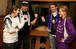 Links Sofie en Eddy Steijnen (Vlimmeren 4), rechts Tom Steynen en vriendin Liesbet (Grobbendonk). lvh <br>