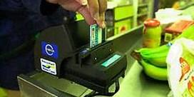 Record aan elektronische betalingen geregistreerd