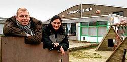 Jo Neyrinck en Chantal Coussement hopen het centrum volgend jaar te kunnen openen. David Stockman<br>