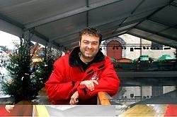 Sportfunctionaris Marnix Van Cauter: 'Tal van schaatsers zegden me dat het met een dak boven hun hoofd gezelliger schaatsen is.' Carol Verstraete