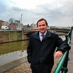 Burgemeester Pieters: 'De omgeving van het kanaal en de waterbeheersing overal in de stad staan hoog op de agenda.'Yvan De Saedeleer<br>