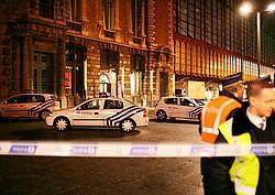 Na de valse bommelding vrijdagavond werd onder meer het station van Antwerpen ontruimd. belga