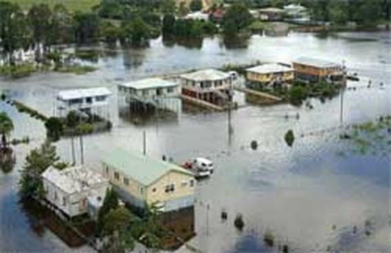 Water en vuur teisteren Australië