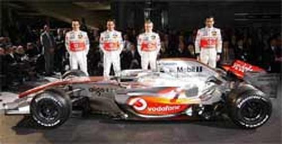 McLaren-Mercedes stelt nieuwe bolide voor