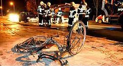 In Bloemenhof in Oudenaarde veroorzaakte een brandende fiets felle rook. David Stockman